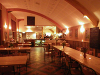 Le restaurant de Riverford © Carine Mayo