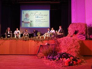 « L'agriculture : des révolutions en marche ». Débat inaugural du salon BiObernai 2015 @ Carine Mayo